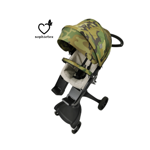 Terrain Patter Summer Style Kit and Basic Style kit for every season. You can choose with visor or faux fur trim too. Perfext stlye kit for stokke xplory v1-v2 pushchair.