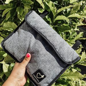 Jackard grey jeans type small bag for every stoller (Nuna Triv,)
